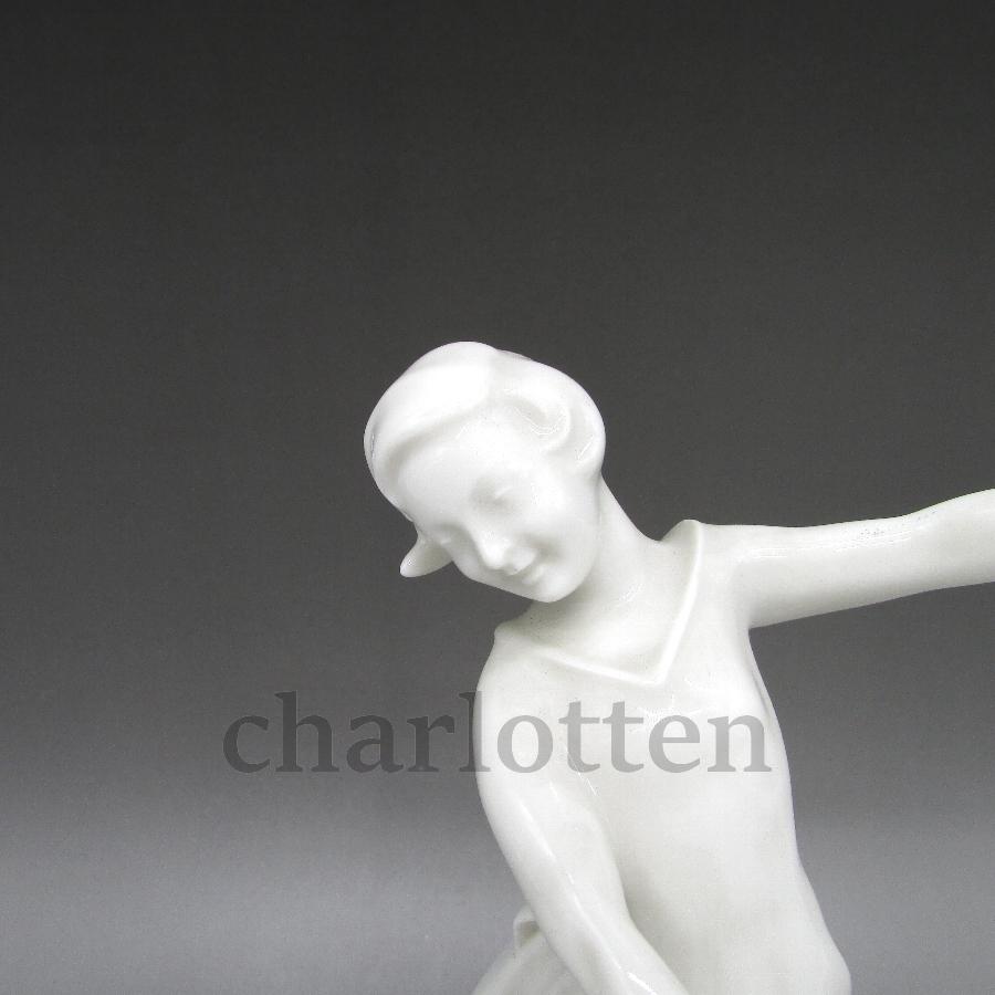 フッチェンロイターの磁器人形 [ u5363-9 ]