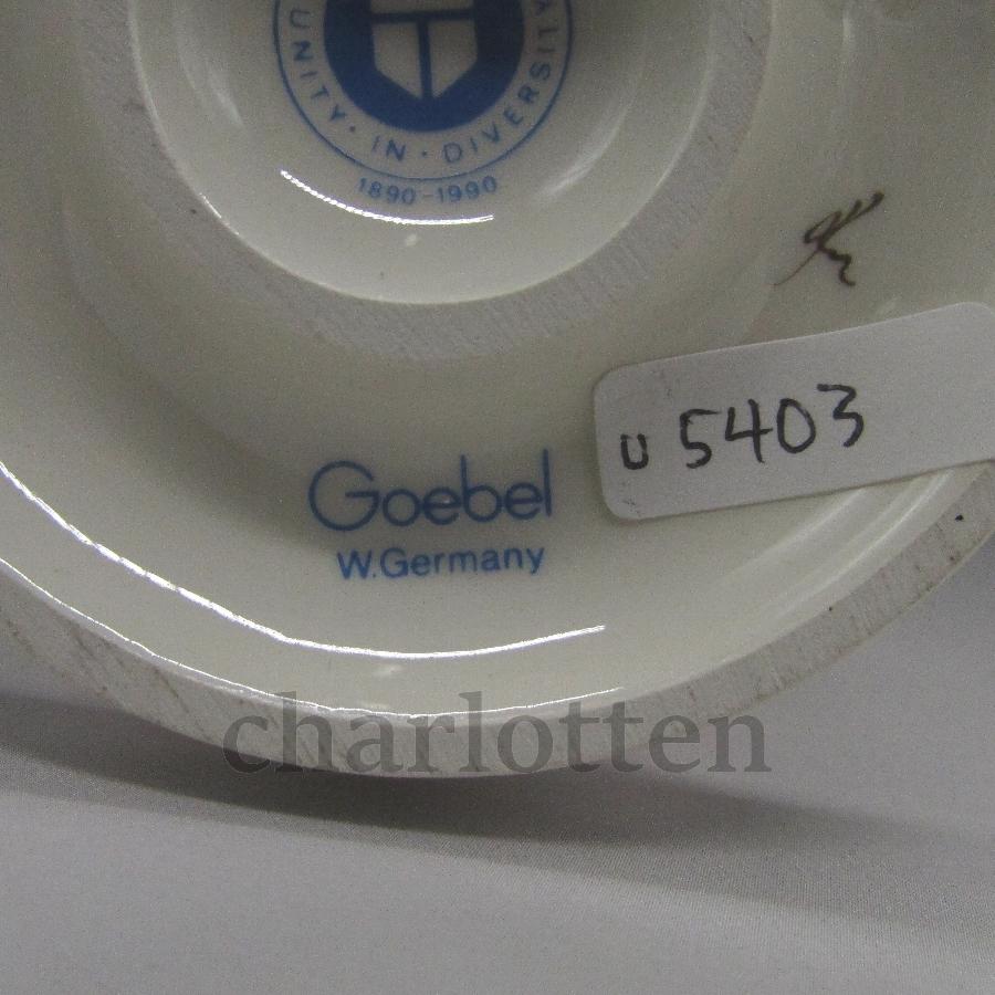 ゲーベルの磁器人形 [u5400-20 ]